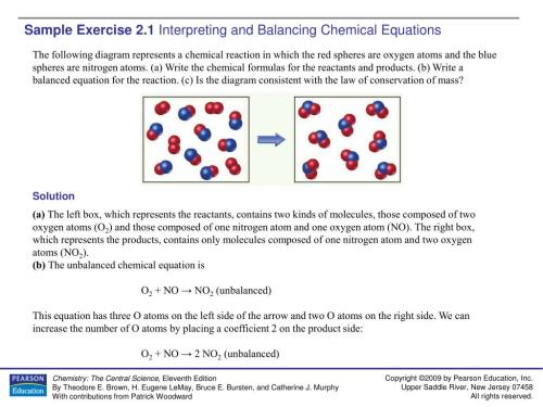 small resolution of ppt sample exercise 2 1 interpreting and balancing chemical equations powerpoint presentation id 4282926