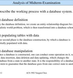 ppt 1 5 describe the working process with a database system a database definition powerpoint presentation id 4292302 [ 1024 x 768 Pixel ]