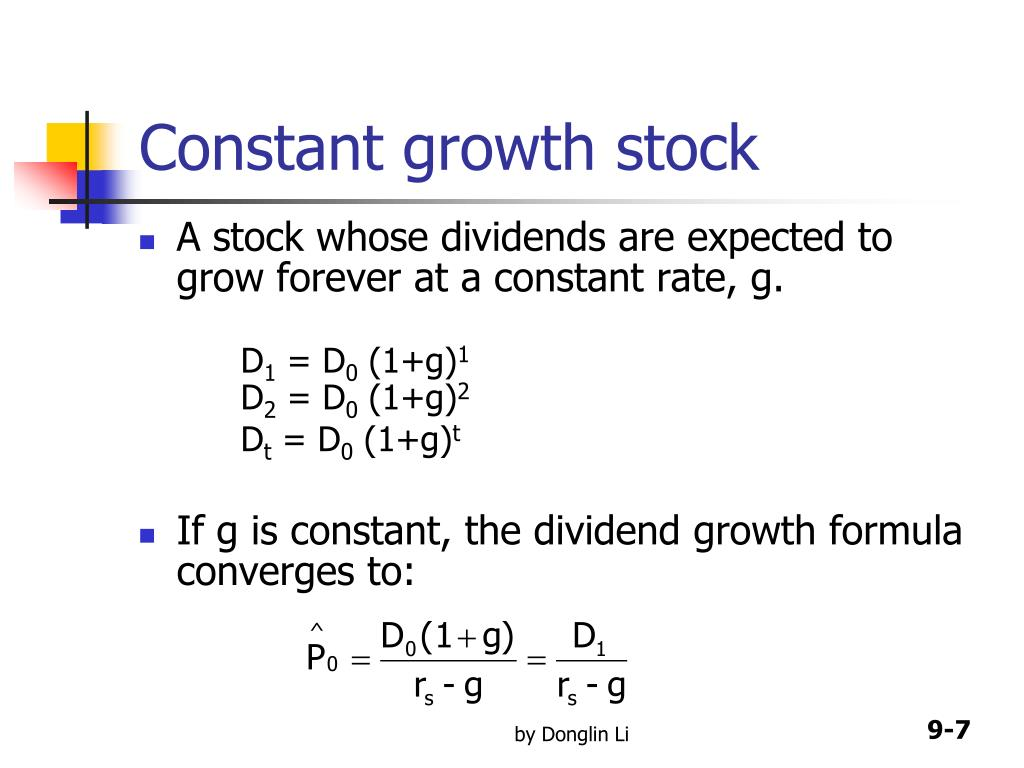 PPT - CHAPTER 9 Stocks and Their Valuation PowerPoint Presentation. free download - ID:4386398