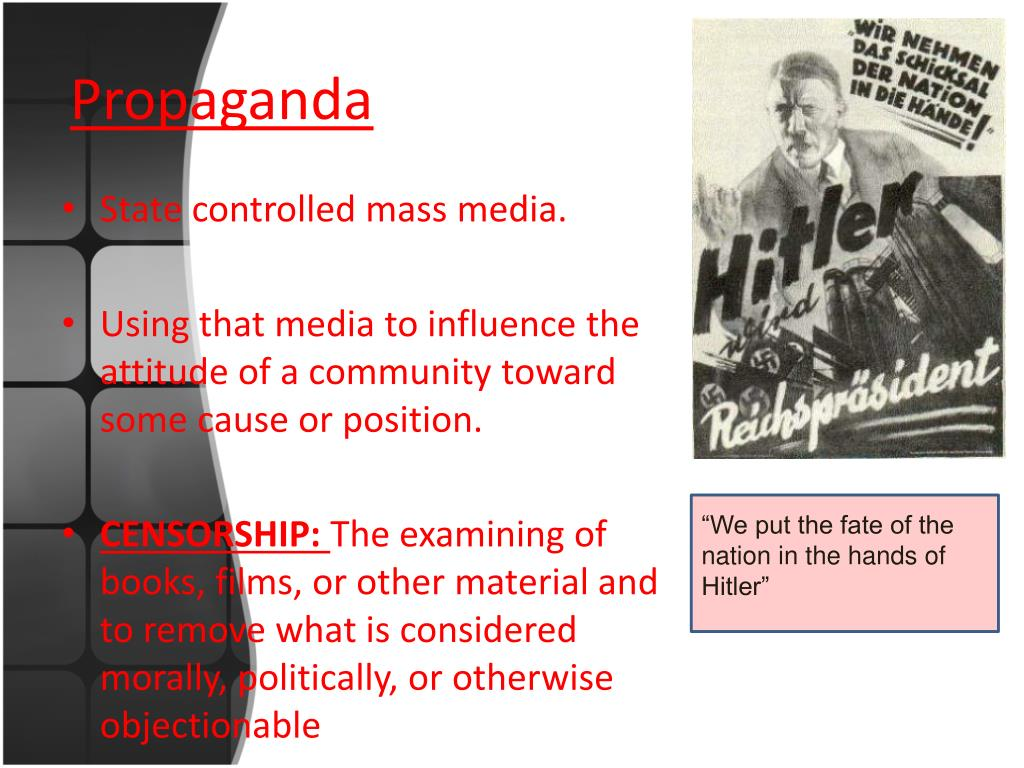 PPT - TOTALITARIANISM PowerPoint Presentation. free download - ID:4442333