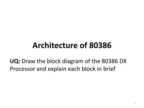 small resolution of block diagram 80386
