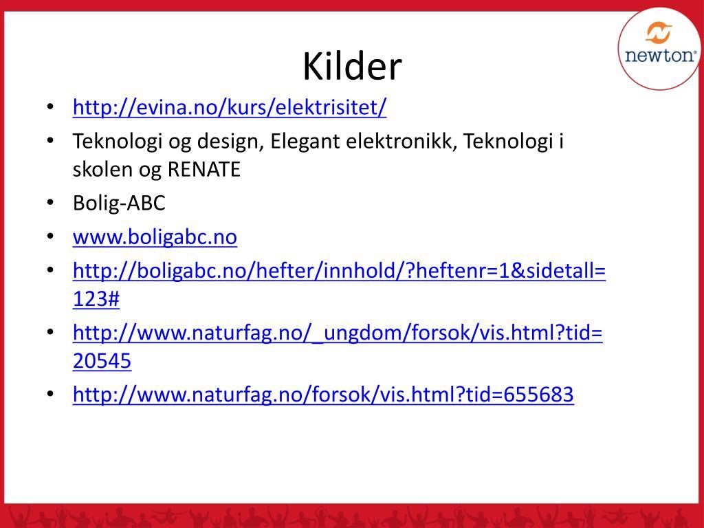 PPT - KOMPETANSEMÅL OG LÆRINGSMÅL ELEKTRISITET OG STRØMKRETSER PowerPoint Presentation - ID:4461627