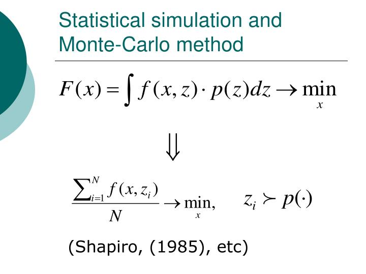 basics of monte carlo simulation