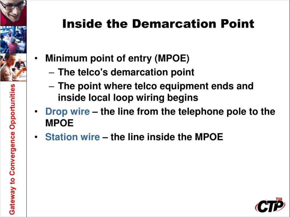 medium resolution of demarcation point wiring