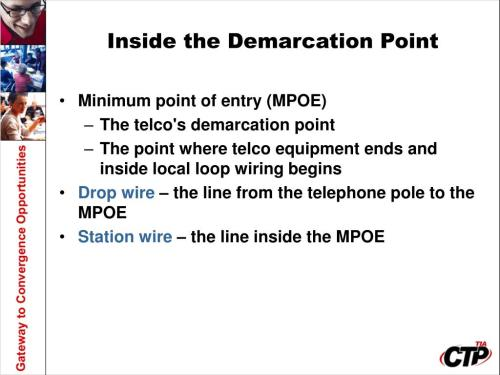 small resolution of demarcation point wiring