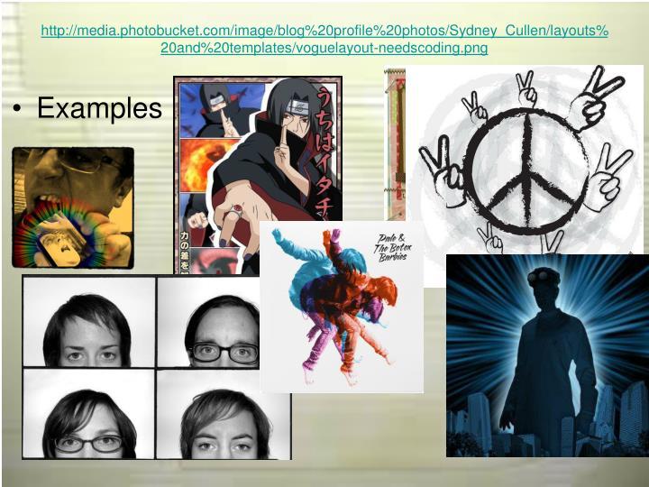 PPT - Blog Profiles: Creating Original Avatars PowerPoint ...