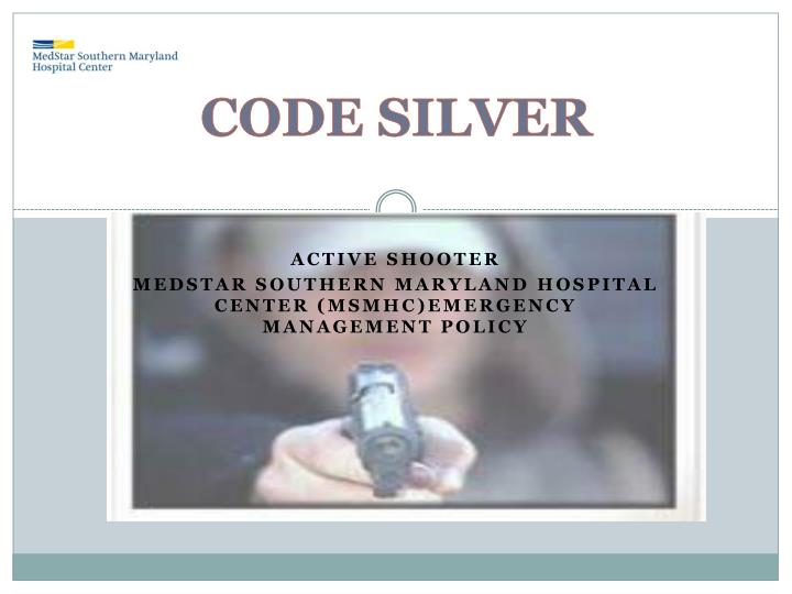 PPT - CODE SILVER PowerPoint Presentation. free download - ID:4586551
