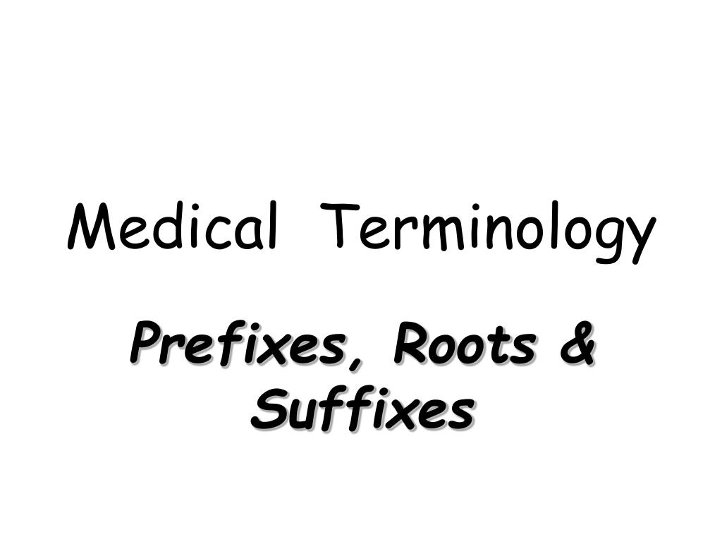 ️ Anter o medical terminology. Med Term (module 3 all