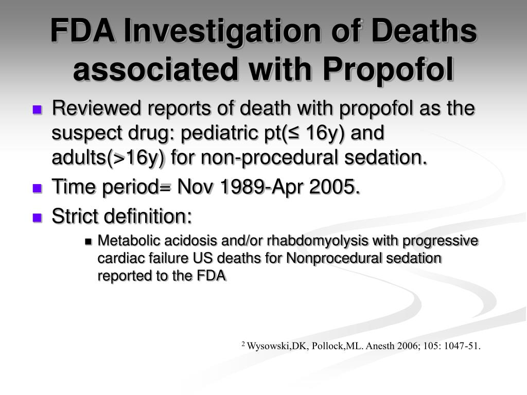 PPT - PROPOFOL INFUSION SYNDROME PowerPoint Presentation. free download - ID:4740656