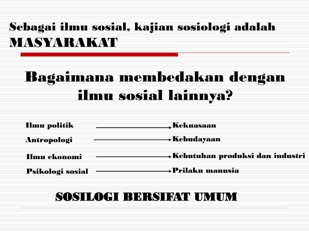 Seorang awam yang untuk pertama kali mempelajari sosiologi, sebenarnya secara. PPT - MATERI MATA KULIAH PENGANTAR SOSIOLOGI PowerPoint