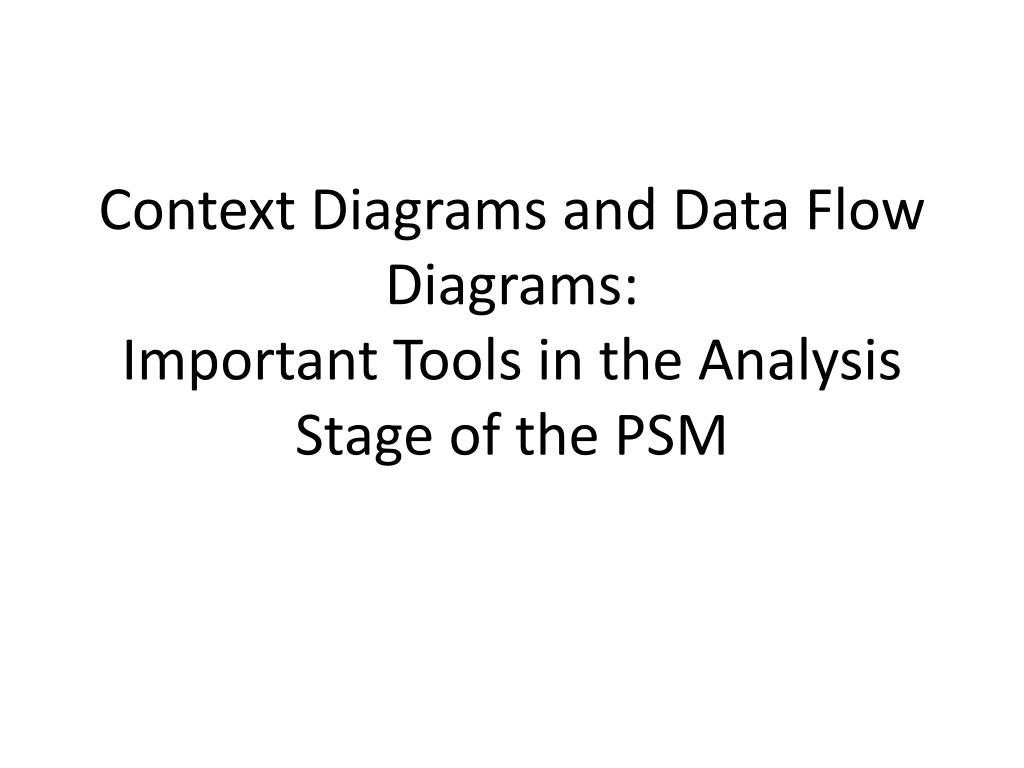 context diagram and data flow yamaha mio soul electrical wiring ppt diagrams important tools in the analysis stage of psm n