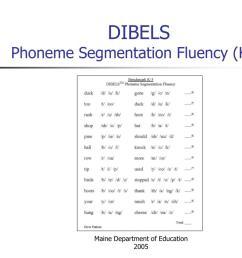 Phoneme Segmentation Fluency Measure Worksheet   Printable Worksheets and  Activities for Teachers [ 768 x 1024 Pixel ]