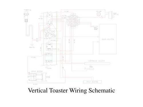 small resolution of toaster wiring schematic