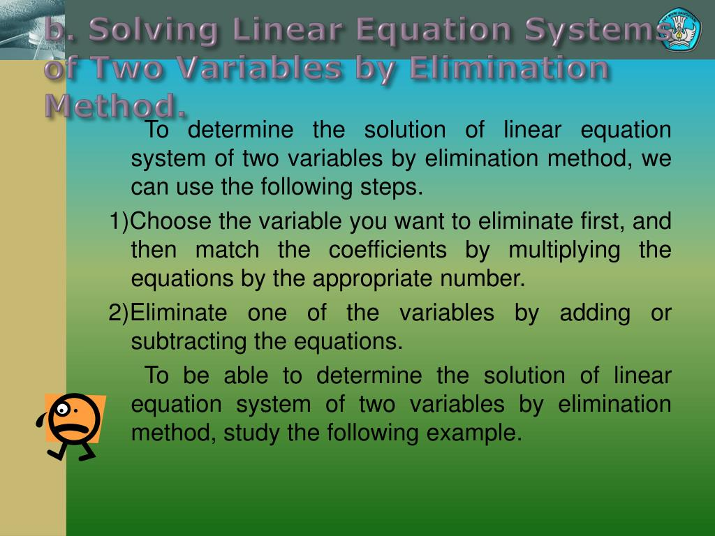 Solving Linear Systems Adding Or Subtracting