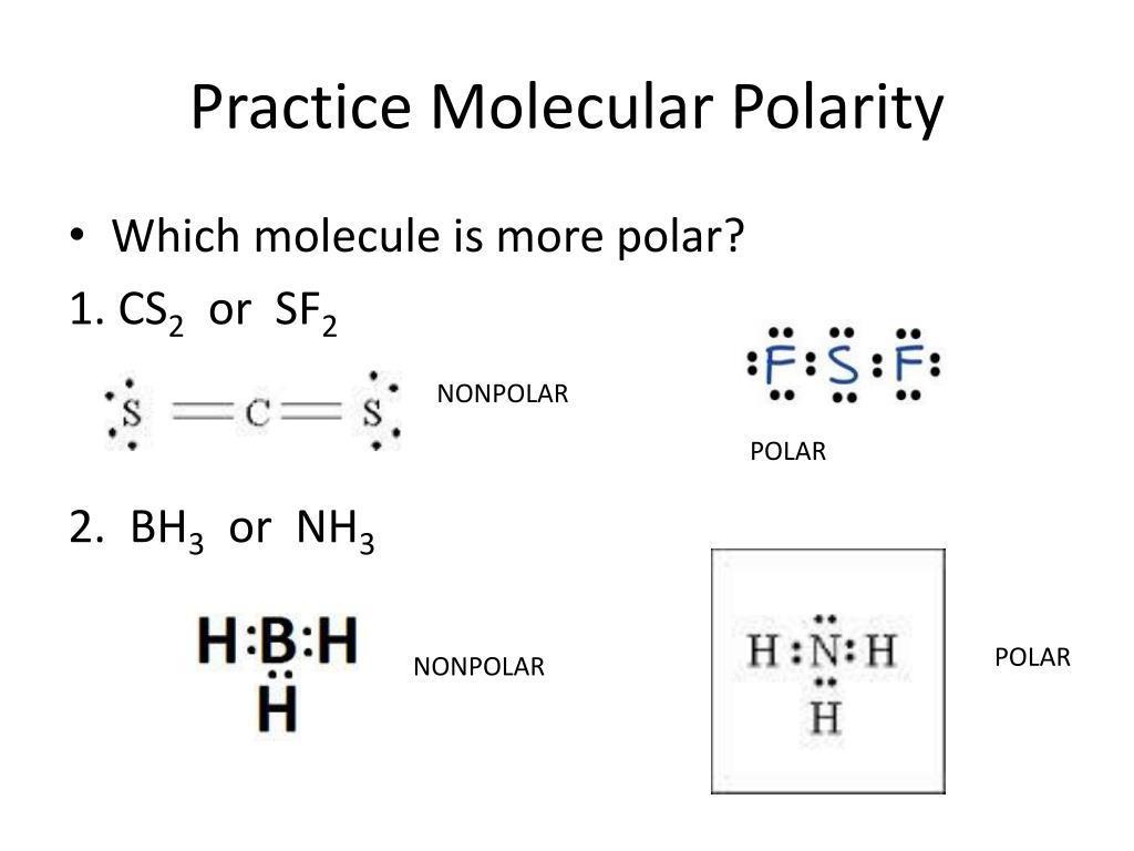 Sf2 Polar Or Nonpolar Bond
