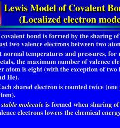 lewis model of covalent bonding localized electron model  [ 1024 x 768 Pixel ]