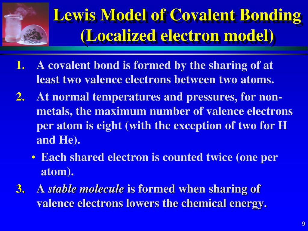 hight resolution of lewis model of covalent bonding localized electron model