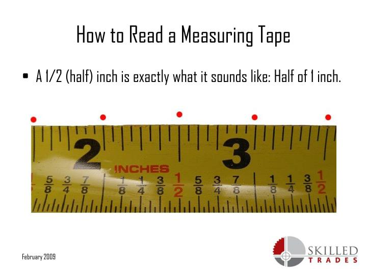 Ppt  How To Read A Measuring Tape Powerpoint Presentation  Id5335145