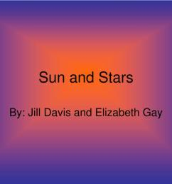 sun and stars by jill davis and elizabeth gay [ 1024 x 768 Pixel ]