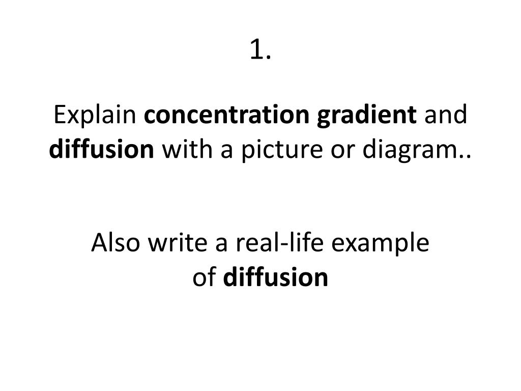 hight resolution of 1 explain concentration