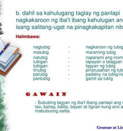 Salitang Ugat At Panlapi Worksheet   Printable Worksheets and Activities  for Teachers [ 768 x 1024 Pixel ]