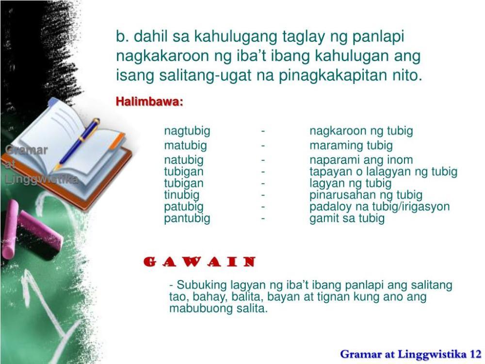medium resolution of Salitang Ugat At Panlapi Worksheet   Printable Worksheets and Activities  for Teachers