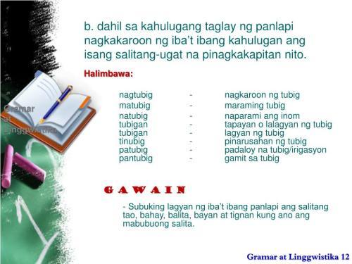 small resolution of Salitang Ugat At Panlapi Worksheet   Printable Worksheets and Activities  for Teachers