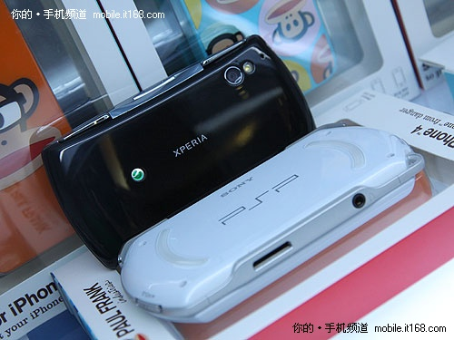 Sony PS Phone / Sony PSP Go photo photo (above)