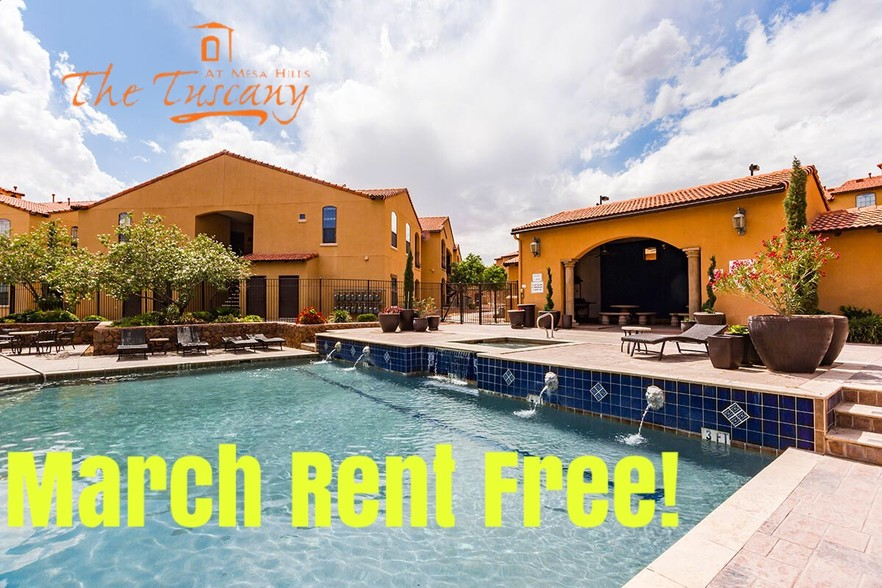 The Tuscany at Mesa Hills  El Paso TX  Apartment Finder