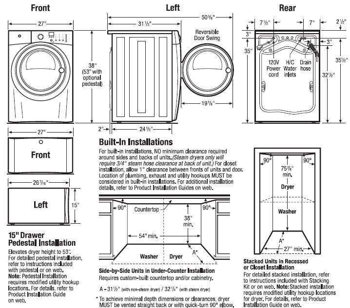 Electrolux Front Load Washer, Electrolux Washer EIFLS60LT