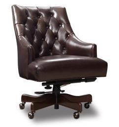hooker furniture aramis aramis dark chocolate home office chair [ 1024 x 768 Pixel ]