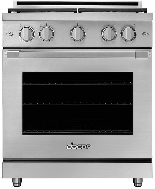 hight resolution of dacor heritage hgpr30sng 30 natural gas freestanding gas range