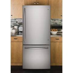 Ge Kitchen Appliances Garbage Cans Gde21eskss 30 Inch Stainless Steel Bottom Freezer