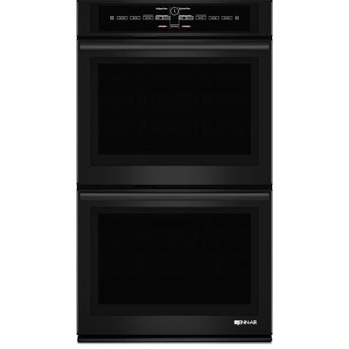 small resolution of jenn air jjw3830db black floating glass 30 inch double wall oven