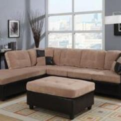 Acme Sectional Sofa Chocolate Pine Table With Drawers Furniture And Chaise Sofas Appliances Connection 51230