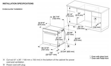 Miele H6880BPHVBR PureLine Series 30 Inch 4.6 cu. ft