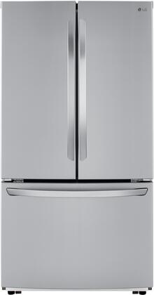 lg kitchen appliances bakers rack lfcc22426s 36 inch smart stainless steel counter depth french zoom in main image