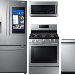 Samsung Kitchen Package Round Pedestal Table 757407 Appliance Packages Appliances Connection Zoom In 4 Piece Stainless Steel