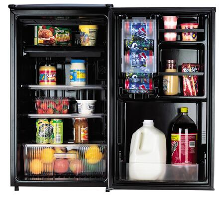 Sanyo SR4433S Compact Refrigerator with 44 cu ft