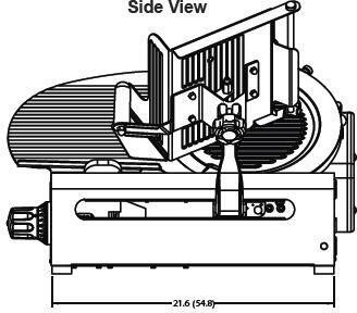 Globe 3600NF N Series 13 Inch Premium Manual Slicer with