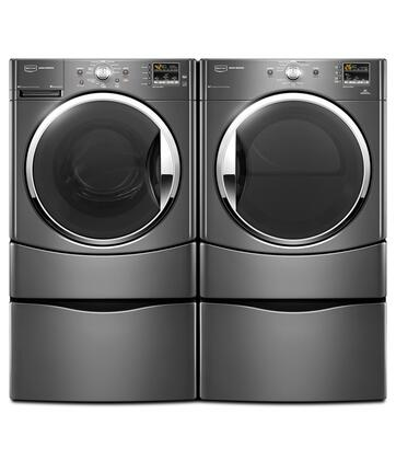 Maytag MHWE251YG 35 cu ft Front Load Washer in Grey  Appliances Connection