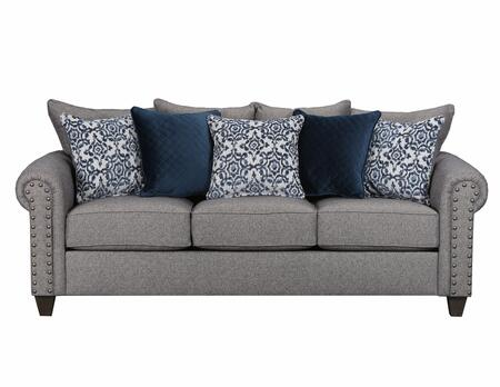 simmons reversible chaise sofa suede upholstery 9175br04qemmaslate emma series convertible fabric zoom in bed