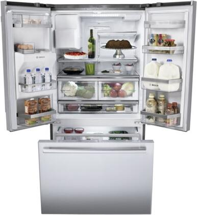 outdoor kitchen appliances packages images bosch b26ft80sns french door refrigerator | ...