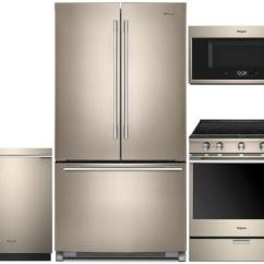 Bronze Kitchen Appliances In Stock Cabinets Reviews Whirlpool 940983 Sunset Appliance Packages Zoom 1