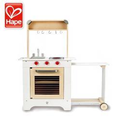 Hape Play Kitchen Maple Chairs Hape高品质木玩e3126厨房餐车 善融商务个人商城仅售799 00元 价格实惠