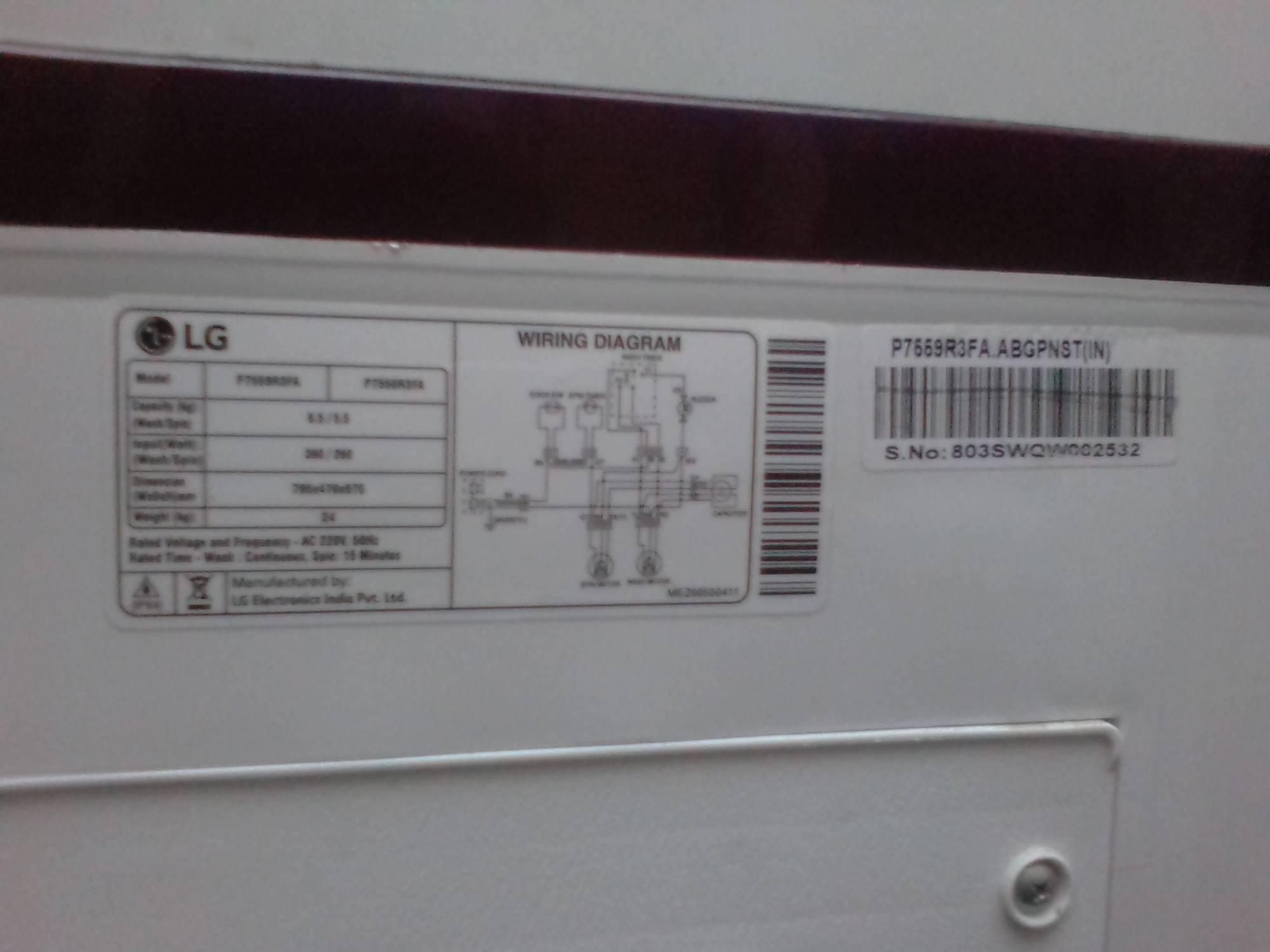hight resolution of just worst lg 6 5 kg semi automatic top load washing machine lg washing machine repair parts lg semi washing machine wiring diagram