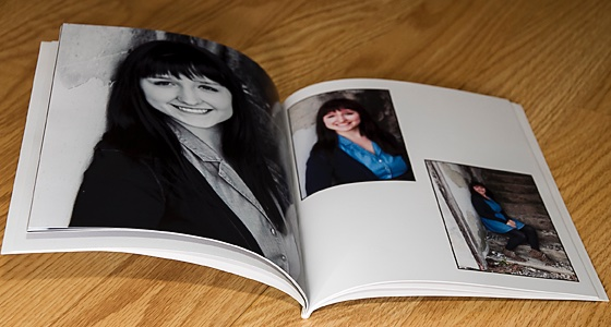 8x10 soft cover book
