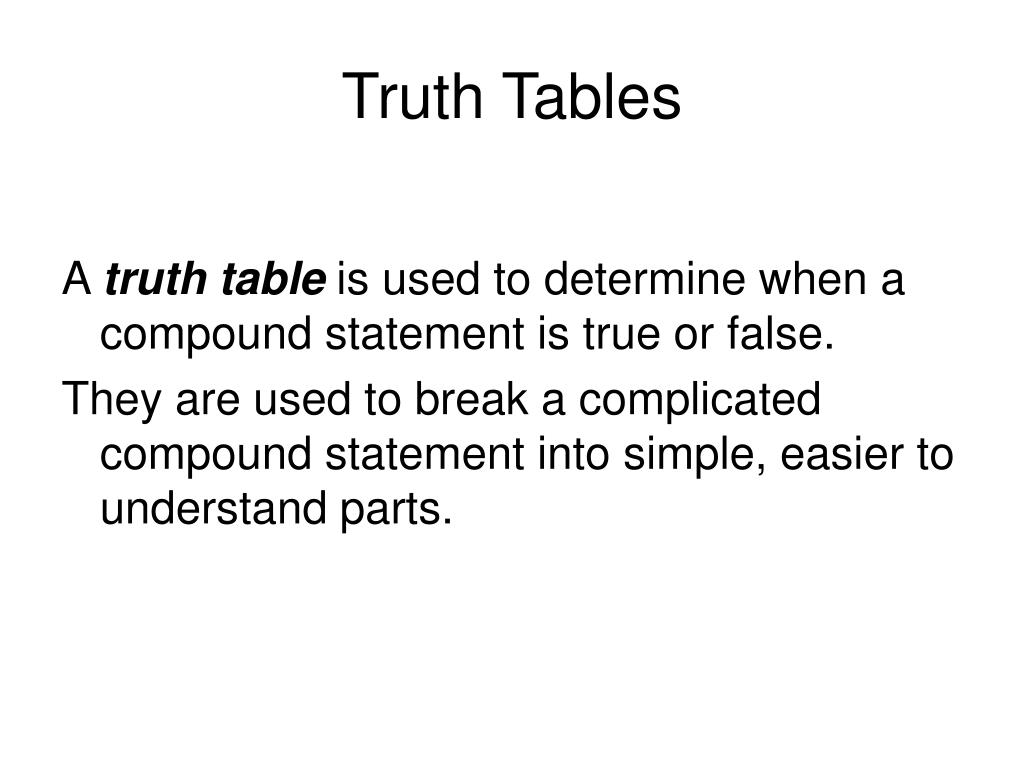 Conditional Truth Table Worksheet