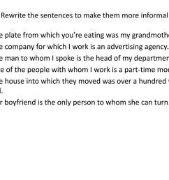 PPT - Join the sentences using a relative pronoun. PowerPoint Presentation  - ID:5426720 [ 768 x 1024 Pixel ]