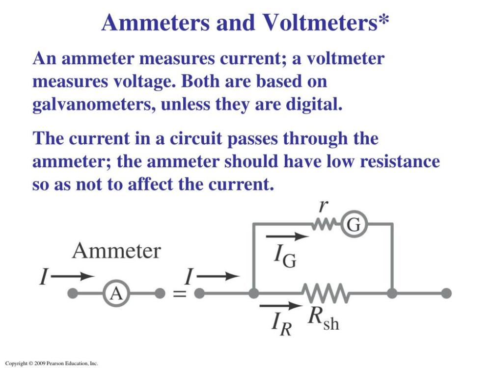 medium resolution of ammeters and voltmeters an